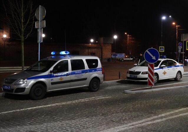 Policja w Kaliningradzie