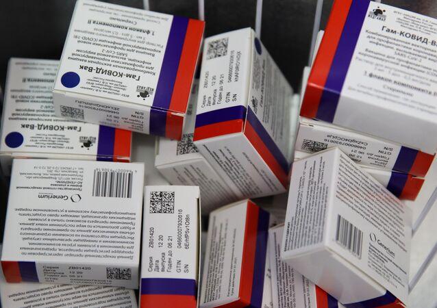 Szczepionka na koronawirusa SARS-CoV-2 Sputnik V.