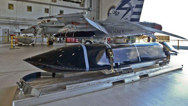 Rakieta LRASM na F/A-18 - Sputnik Polska