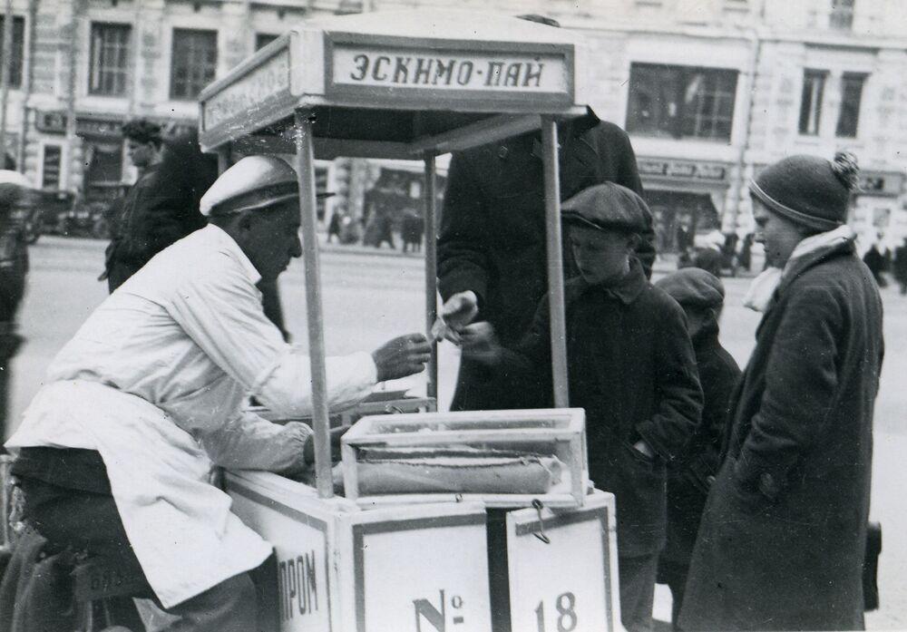 Sprzedaż lodów w ZSRR, 1935 rok