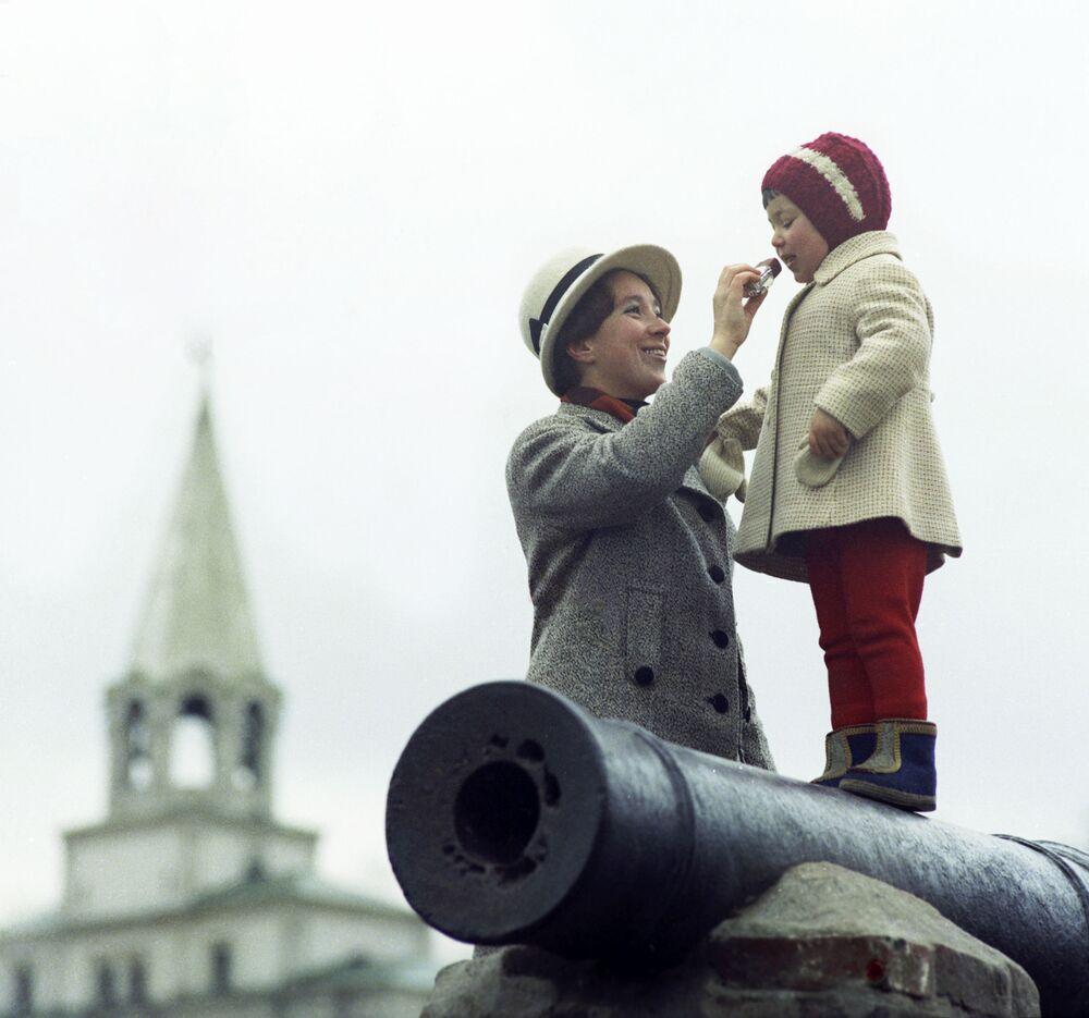 """Ulubione lody"". Moskwa, 1972 rok"