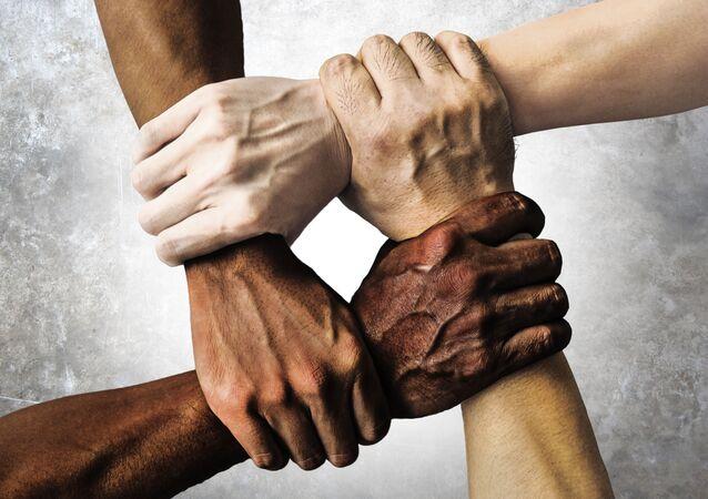 Ludzie o różnych rasach