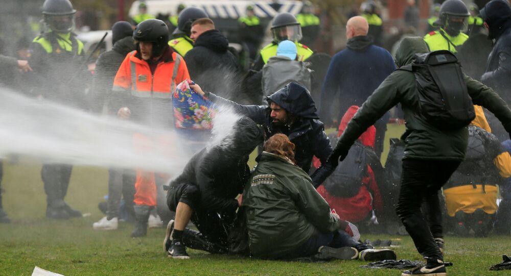 Protesty w Holandii