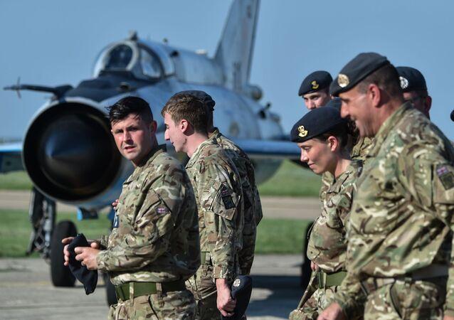 Brytyjscy wojskowi