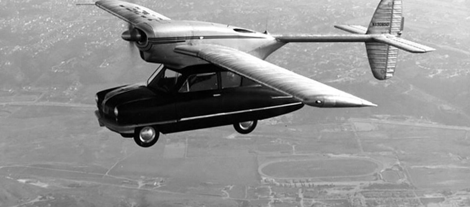 Prototyp latającego samochodu Convair Model 118, 1947 rok - Sputnik Polska, 1920, 26.01.2021