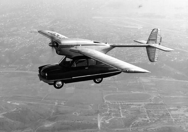 Prototyp latającego samochodu Convair Model 118, 1947 rok