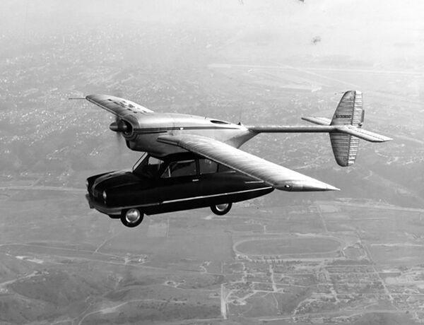 Prototyp latającego samochodu Convair Model 118, 1947 rok - Sputnik Polska