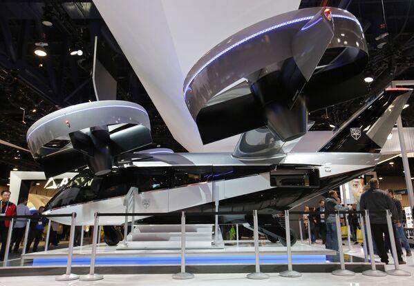 Latająca taksówka Bell Nexus 4EX podczas pokazów CES tech show w Las Vegas - Sputnik Polska