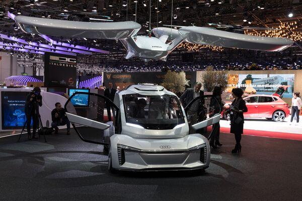 Bezzałogowy latający samochód firm Audi AG, Airbus и ItalDesign Giugiaro - Sputnik Polska