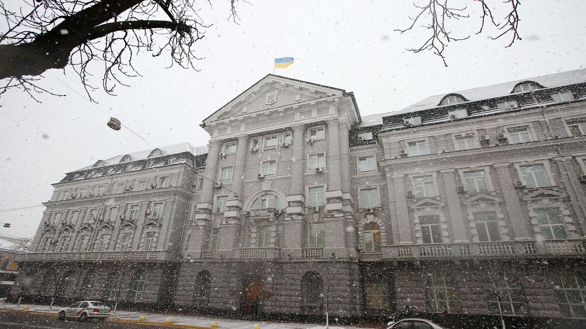 Budynek Służby Bezpieczeństwa Ukrainy (SBU) w Kijowie - Sputnik Polska, 1920, 07.06.2021