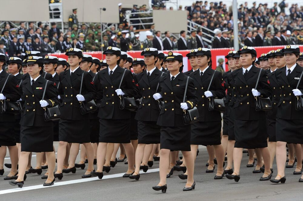 Parada Sił Samoobrony w Japonii