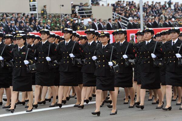 Parada Sił Samoobrony w Japonii - Sputnik Polska