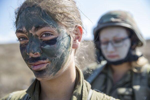 Izraelskie kobiety żołnierze - Sputnik Polska