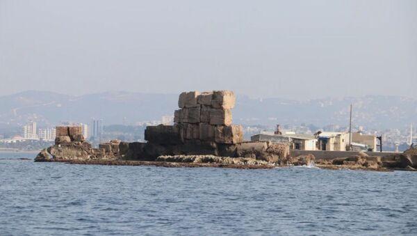 Naukowcy z Sewastopolskiego Uniwersytetu odkryli u wybrzeży Syrii ruiny nieznanego starożytnego portu - Sputnik Polska