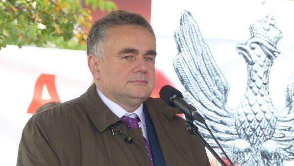 Tomasz Sakevich, redaktor naczelny Gazety Polskiej - Sputnik Polska