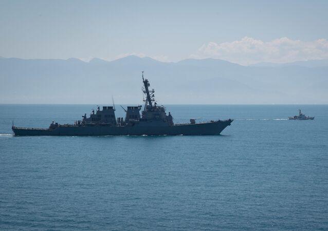 """Niszczyciel Marynarki Wojennej USA """"Porter"""" (DDG 78)"""