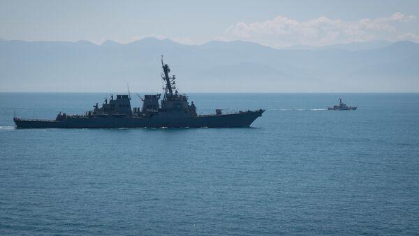 """Niszczyciel Marynarki Wojennej USA """"Porter"""" (DDG 78) - Sputnik Polska"""
