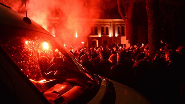 Protest w Warszawie, 28.01.2021 r. - Sputnik Polska