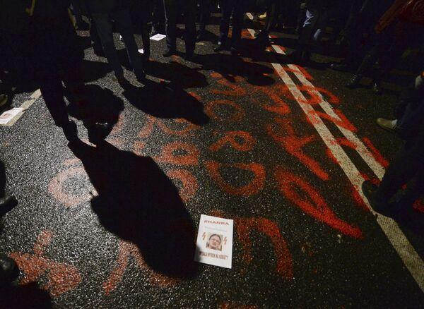 Akcja przeciwko zaostrzeniu prawa aborcyjnego w Warszawie - Sputnik Polska