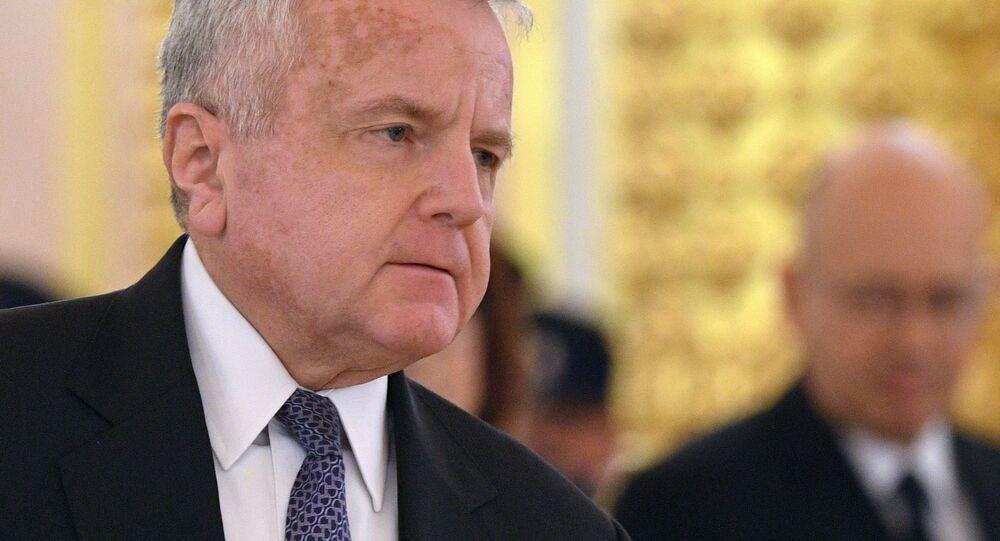 Ambasador USA w Moskwie John Sullivan.