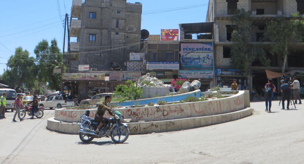 Centrum Afrin, Syria