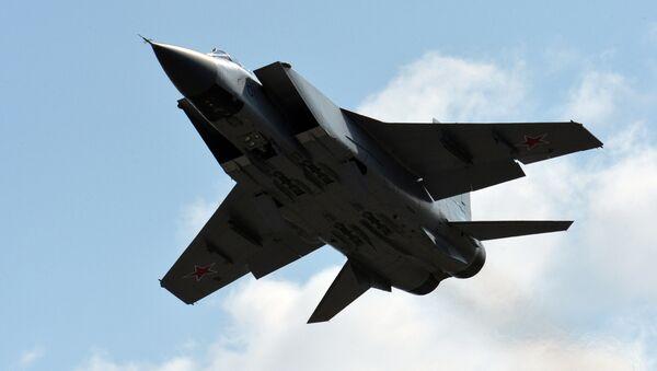 Rosyjski myśliwiec przechwytujący MiG-31. - Sputnik Polska