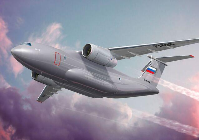 Koncepcja wojskowego samolotu transportowego Ił-276