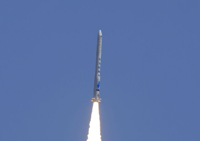 Wystrzał chińskiej rakiety Hyperbola-1