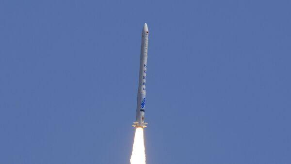 Wystrzał chińskiej rakiety Hyperbola-1 - Sputnik Polska