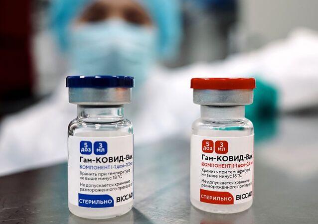 """Produkcja rosyjskiej szczepionki przeciwko COVID-19 """"Sputnik V"""""""