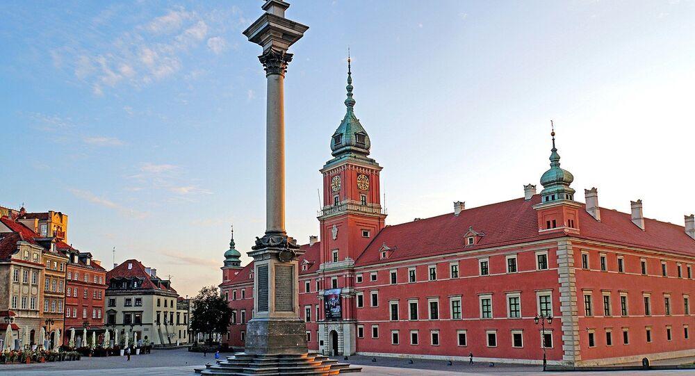 Zamek Królewski w Warszawie.