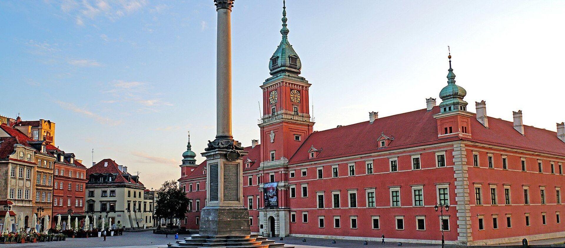 Zamek Królewski w Warszawie - Sputnik Polska, 1920, 27.04.2021