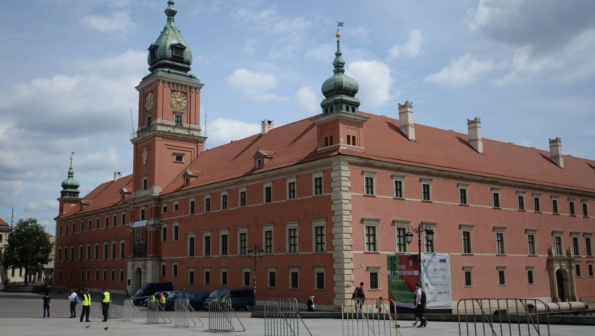 Zamek Królewski w Warszawie - Sputnik Polska, 1920, 03.05.2021
