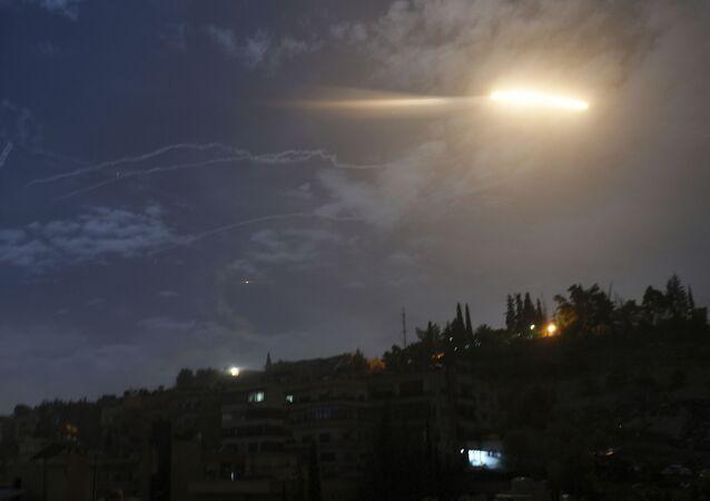 Izraelski atak rakietowy na Syrię