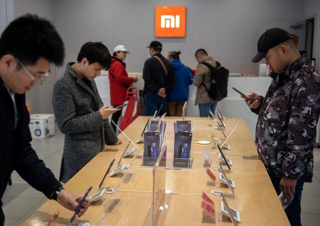 Jeden ze sklepów Xiaomi w Pekinie.