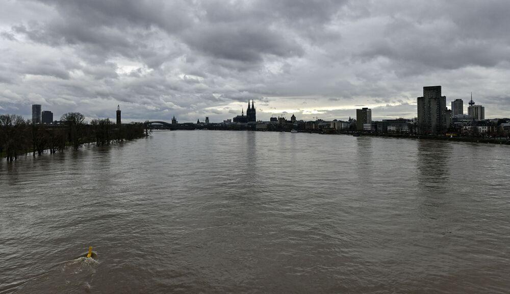 Rzeka Ren w Kolonii