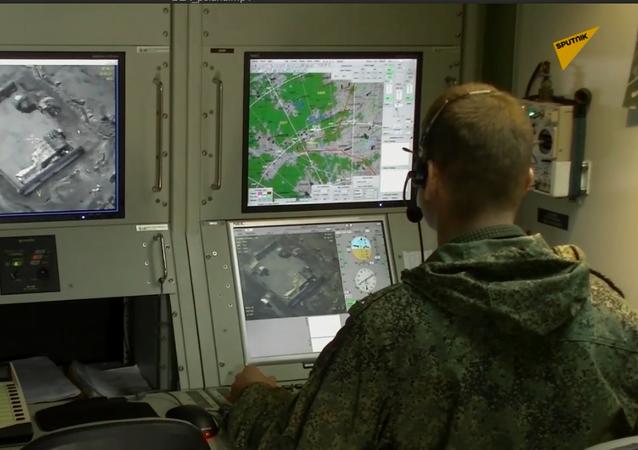 Rosyjskie siły pokojowe używają drony