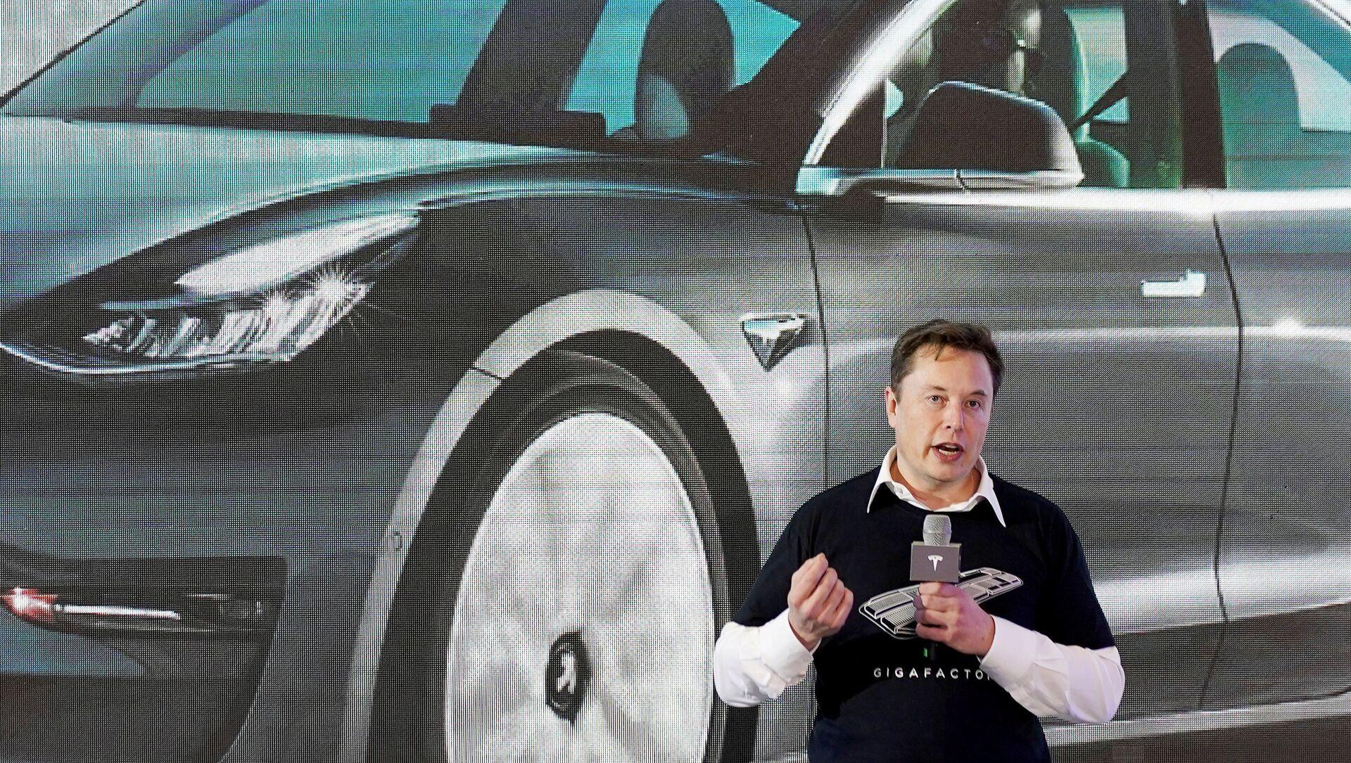 Elon Musk. - Sputnik Polska, 1920, 04.02.2021