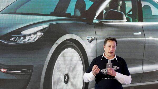 Elon Musk. - Sputnik Polska