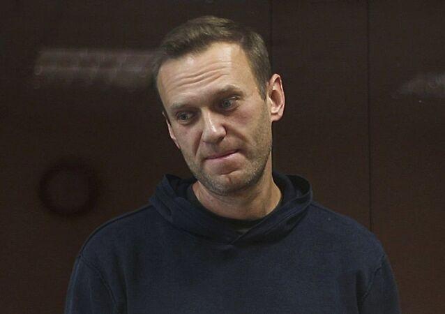 Posiedzenie Nawalnego, oskarżonego w sprawie o pomówienie weterana Wielkiej Wojny Ojczyźnianej Ignata Artemienki