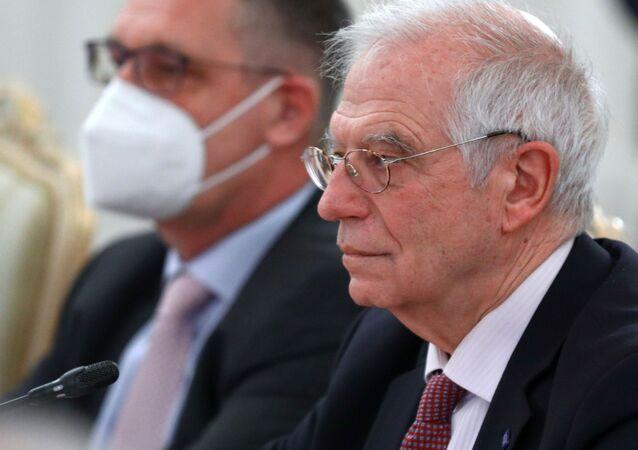 Wysoki przedstawiciel UE ds. zagranicznych i polityki bezpieczeństwa Josep Borrell w Moskwie