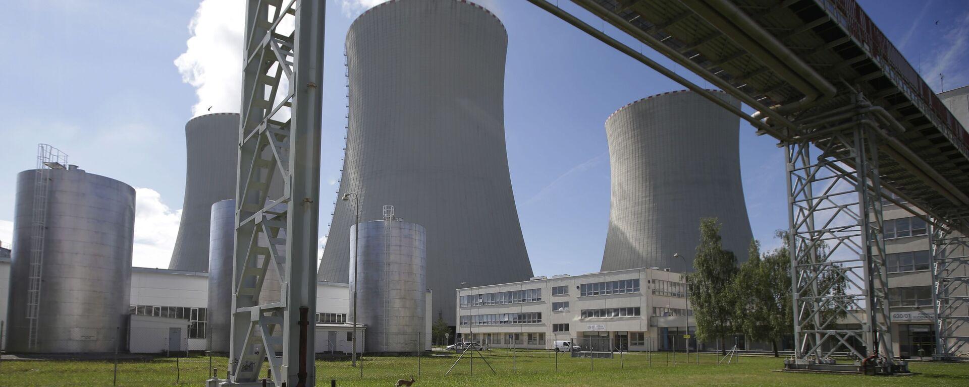 Elektrownia atomowa Temelin w Czechach - Sputnik Polska, 1920, 22.06.2021