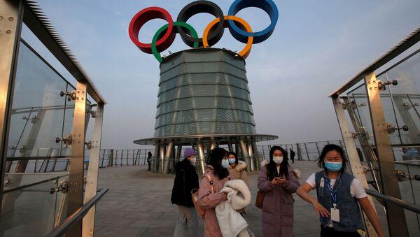 Wieża olimpijska w Pekinie - Sputnik Polska