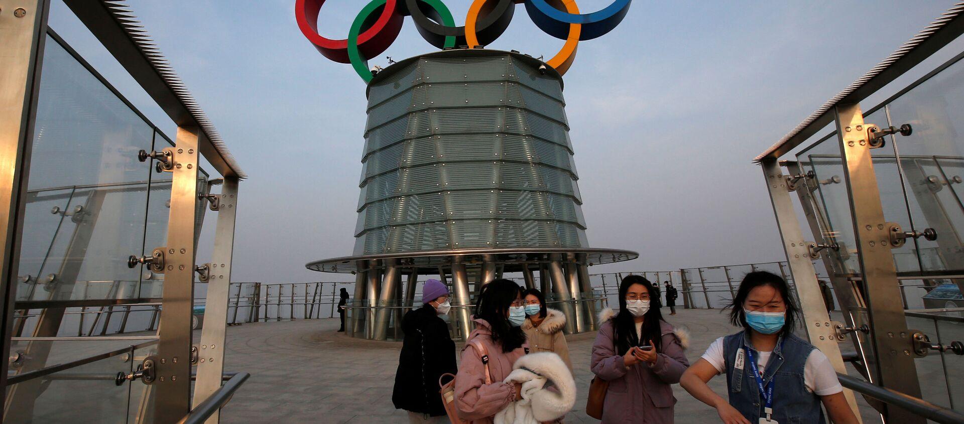 Wieża olimpijska w Pekinie - Sputnik Polska, 1920, 06.02.2021
