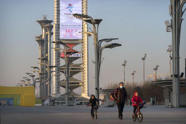 Odliczanie do rozpoczęcia igrzysk olimpijskich 2022 w Pekinie - Sputnik Polska