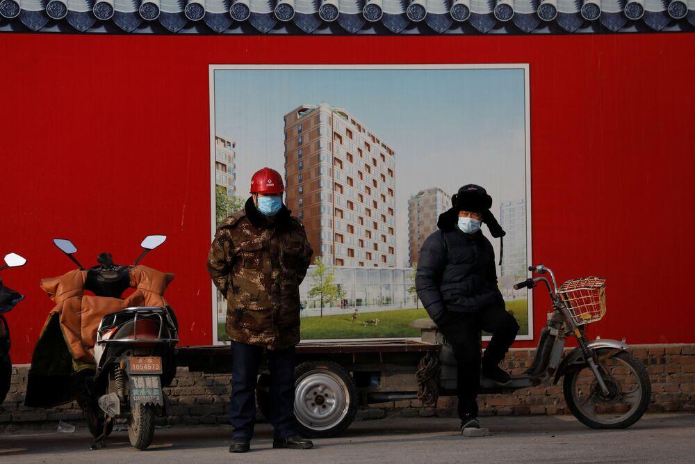 Budowa wioski olimpijskiej w Pekinie