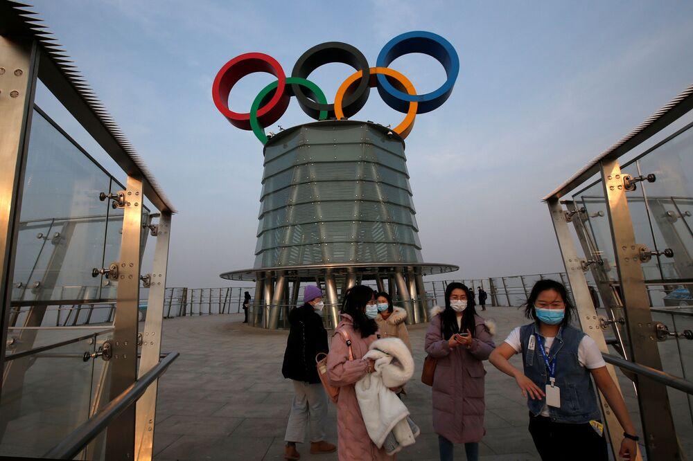 Wieża olimpijska w Pekinie