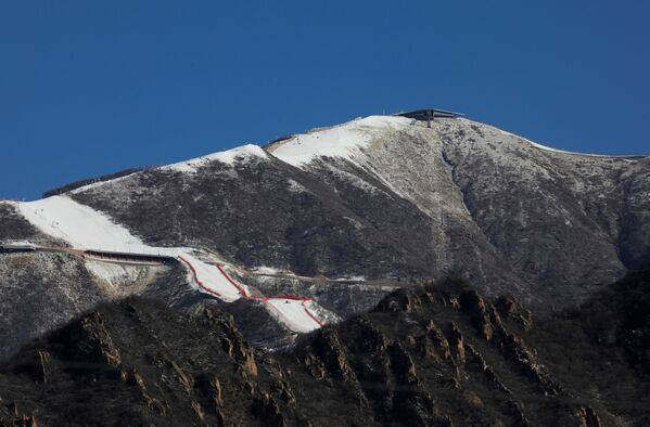 Stok narciarski w Pekinie - Sputnik Polska