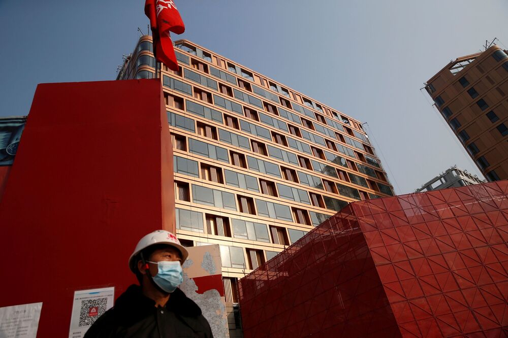 Budowa obiektów olimpijskich w Pekinie