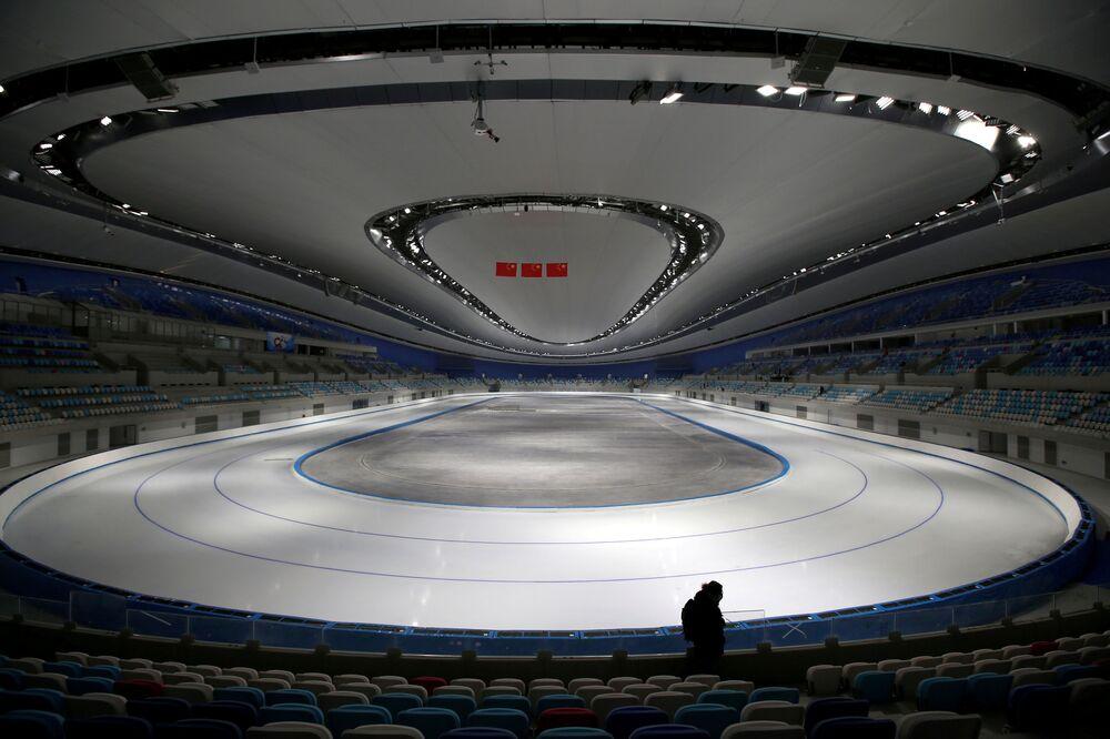 Nowy tor łyżwiarski w Pekinie